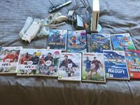 Wii bundle.. excellent condition.. consoles and games