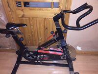 Tomahawk exercise bike.