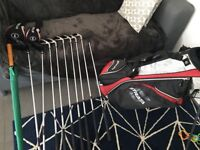 Golf Clubs - Strata. Awesome set from Driver to Putter plus balls, umbrella and bag