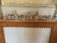 30 x wedding hand decorated jars