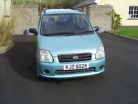 2006 SUZUKI WAGON/VAUXHALL AGILA **LOW MILES** GREAT CONDITION**