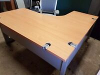 Executive managers office desks top spec