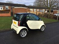2004 smart car 700cc turbo taxed n tested £30 a year tax ready to go top spec 80mpg £1295ovno