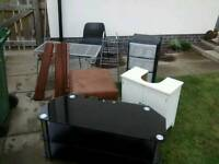 Free stuff(drawers, coffee table and one outdoor toy are already taken): furniture, children toys