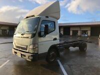 MITSUBISHI FUSO CANTER CHASSIS CAB *17 FOOT BODY* IDEAL RECOVERY/TILT AND SLIDE