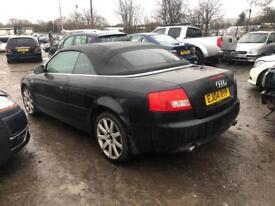 2004 AUDI A4 CAB CONVERTIBLE BREAKING FOR PARTS SPARES