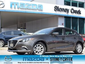 2014 Mazda MAZDA3 GS Auto Sport LOW KM Heated B/UP CAM B/T Alloy