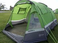 4 MAN HI GEAR ENIGMA TENT BUNDLE