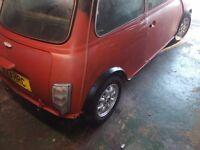 Classic mini rear lights