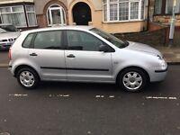 Volkswagen Polo 1.4 Twist Hatchback, 5 Doors 2005, Petrol Manual Silver, Only 66954 miles. £1650