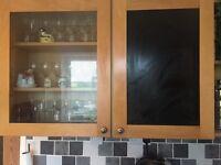 4 x Kitchen wall units