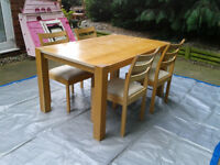 Dining Room kitchen / Dinner Room Table and 4 Chairs ##FREE DELIVERY##