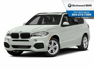 2015 BMW X5 xDrive35d M Sport! Premium Package! Local Car! 1 O