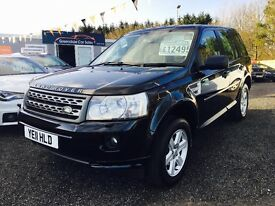 2011 Freelander 2, TD4, 46,000 Miles, 12 MONTHS WARRANTY, Finance Available