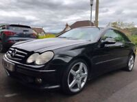 2005 MERCEDES CLK 220, IMMACULATE INSIDE AND OUT