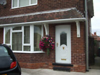 Lovely 3 bed house with off street parking and large garden with a shed