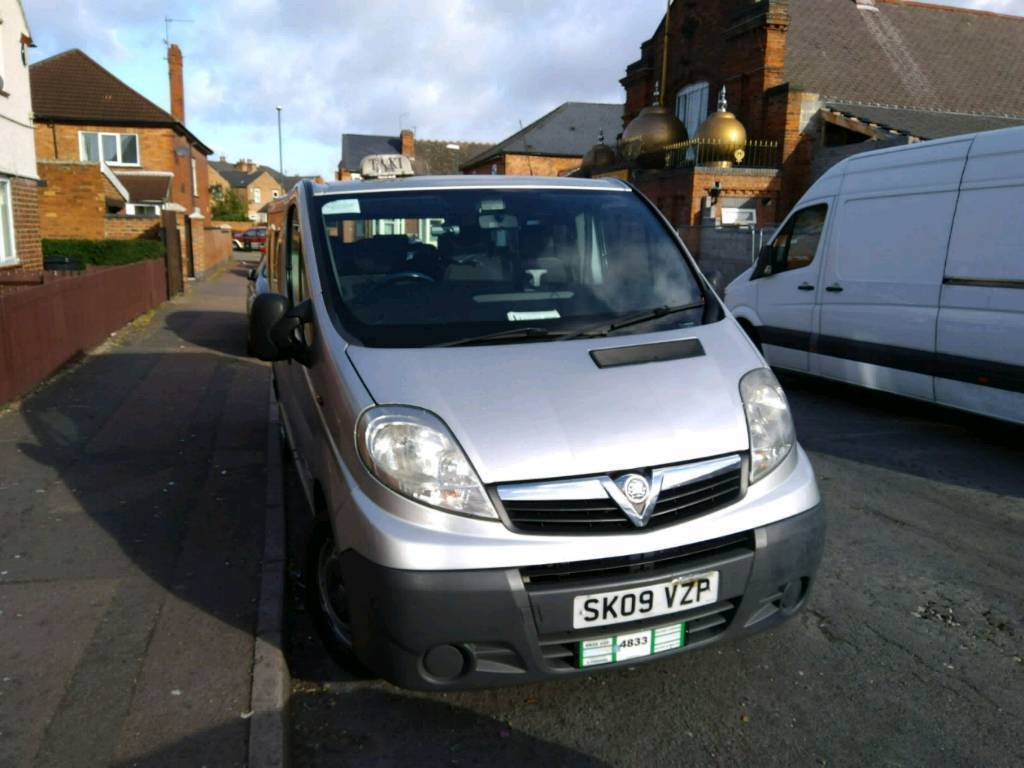 Vauxhall vivaro Rossendale 9seater taxi for sale