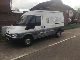 Ford Transit van MWB Semi high. Will only go int 3rd and 4th gear. Will drive.
