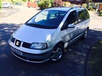 Seat Alhambra 1.9 TDI PD 5dr FULL SERVICE HISTORY