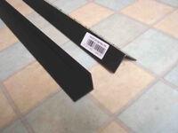 25mm right angle black plastic 1 x 2.4m 1 x 0.8m 1 x 1.6m