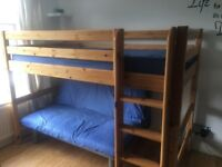 Flexa Single Bed with Leg Extension and Ladder