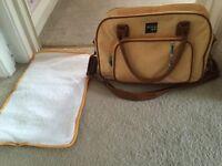 Working mums changing bag