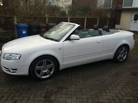 2006 Audi A4 convertible Sline