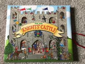 Knights Castle book toy