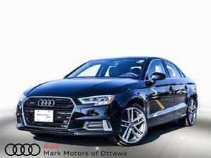 2017 Audi A3 2.0T Technik *Certified*
