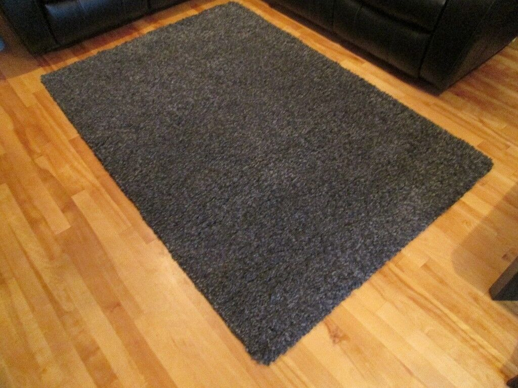Large Grey Noelia Shaggy Rug From B Amp Q Colours Range In