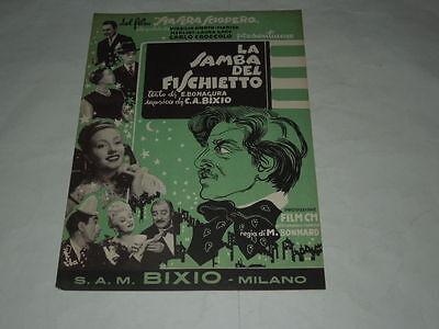SPARTITO MUSICALE DEL 1952