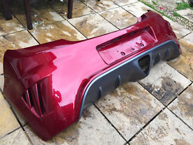 Vauxhall Corsa D VXR 2007 Genuine Rear Bumper & Diffuser