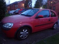 2003 vauxhall corsa 1.0 for spares or repairs runs and drives DRIVEAWAY