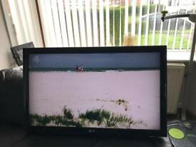 """LG 37"""" LCD TV PERFECT WORKING """" USB compatible """"+Original Remote"""