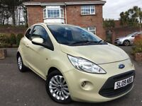 2009 FORD KA ZETEC 1.2 ** ONLY 65,000 MILES ** 6 MONTHS WARRANTY AND AA BREAKDOWN COVER