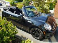 Mini Cooper Convertable 1.6 Black