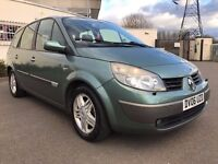 Renault Grand scenic AUTOMATIC 1 year MOT 7 seaters fully loaded