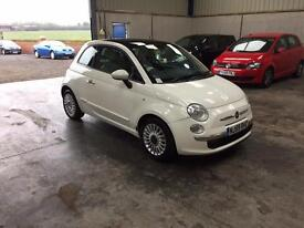 2010 fia 500 lounge 1.2cc 1 owner full mot guaranteed cheapest in country