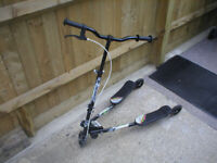 Speeder Wiggle Scooter in good condition.