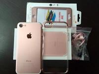 iPhone 7 Package - 128GB Rose Gold Unlocked