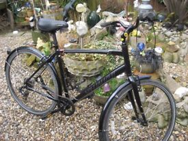 GENTS CYCLE, NEVER USED, LIGHT WEIGHT, 7 SPEED, EXTRA'S