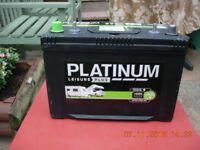 PLATINUM LEISURE PLUS BATTERY 90 AMP.