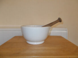 Vintage Pharmaceutical Pestle & Mortar. Very Big & Heavy