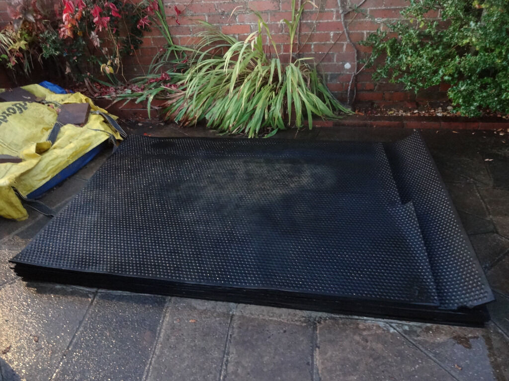 Rubber mats exeter - Stable Mats Rubber 15mm Thick