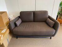 2 seater grey Habitat Sofa