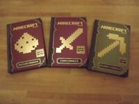 3 x Brand New Minecraft Books - Never Read