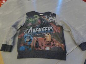 Avengers Assemble Jumper from Next - age 5