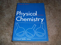 Physical Chemistry Third Edition by Gordon M Barrow 1973 Large Paperback