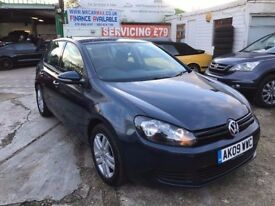 2009 VW GOLF S 1.6 AUTOMATIC 5 DOOR 46300 MILES CAM BELT DONE FULL HISTORY FINANCE £118 PER MONTH