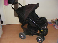 Mothercare Trenton Deluxe Pushchair & Infant car seat